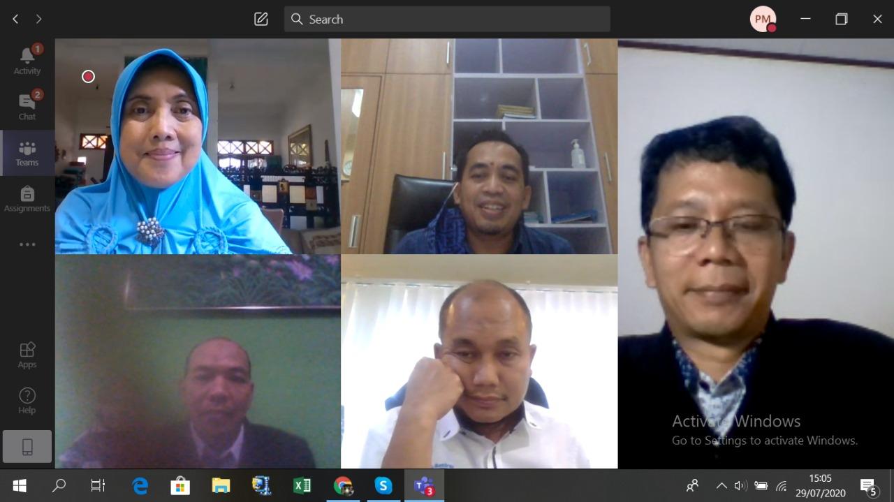 Ujian Disertasi Secara Daring PS.DIL.UNDIP